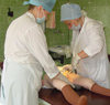 Лечение гнойных ран в условиях поликлиник
