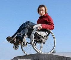 Техника езды на активной коляске