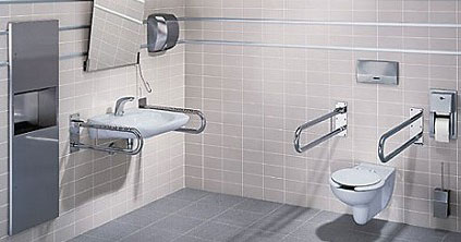 Обустройство спальни, ванной и туалетной комнаты после травмы спинного мозга