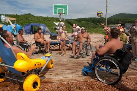 Лагеря для инвалидов