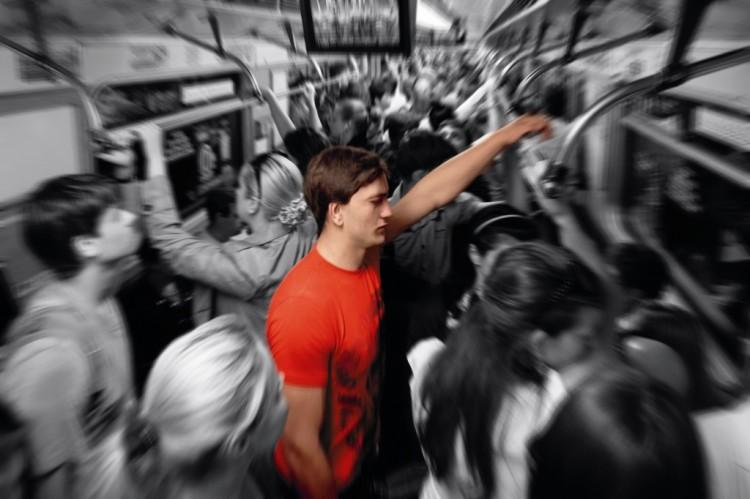 Что делать при панической атаке в метро