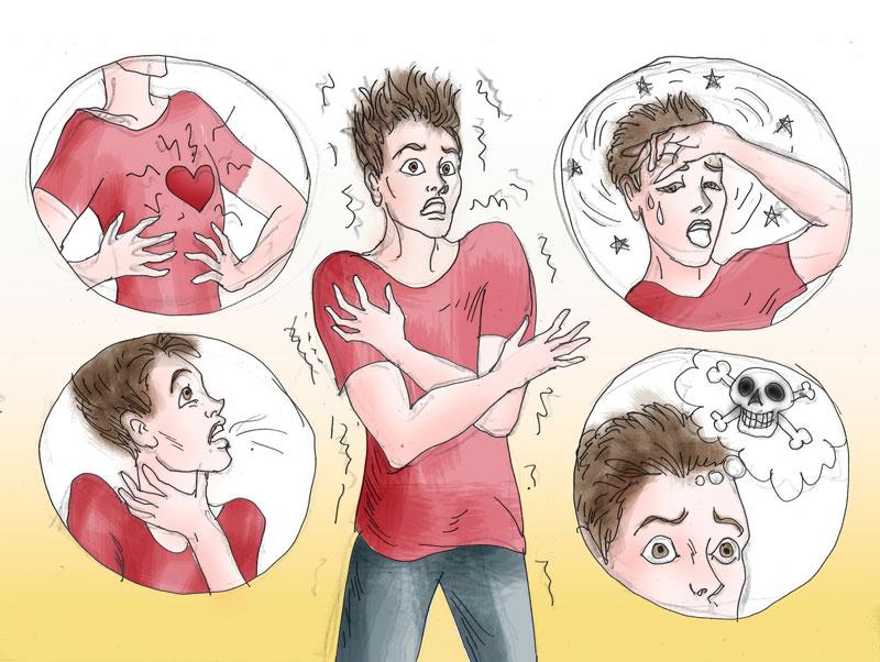 Симптомы и причины панической атаки